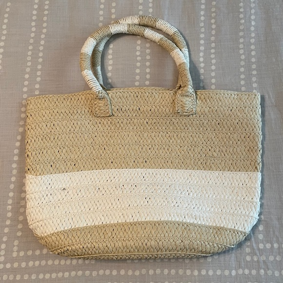 Altru Straw Tote Bag - CAUSEBOX - Never Used NWT
